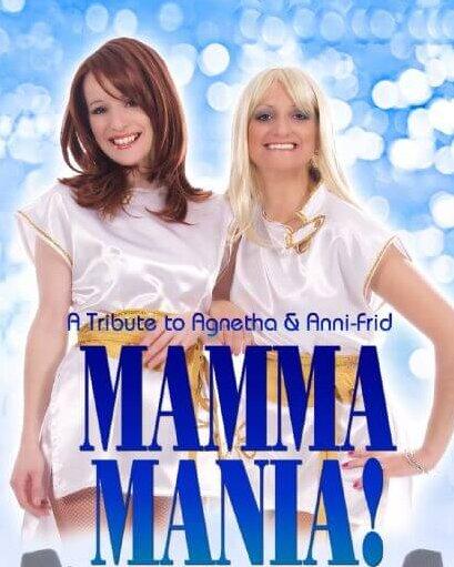 Mamma Mania, Abba Girls Tribute, Dinner & Disco